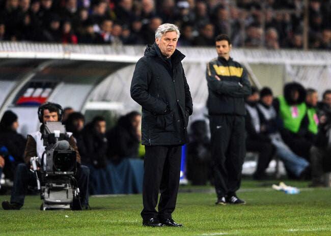 Pour Ancelotti, le PSG a toujours des « petits problèmes »