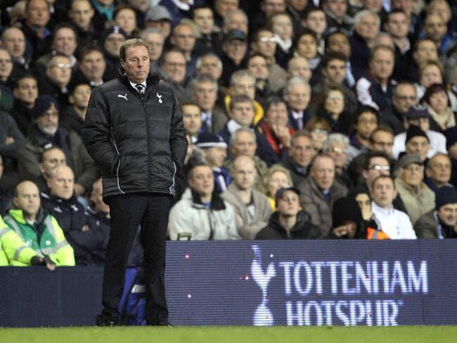 Redknapp ne pense qu'à Tottenham et rien d'autre