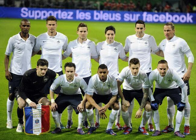 A la télé, l'équipe France de foot se fait laminer par le XV de France