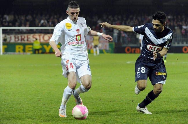 Brest ne cherche pas d'excuses, Bordeaux était plus fort