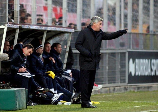 L'arbitre de Dijon-PSG avoue qu'Ancelotti mécontent, c'est la classe