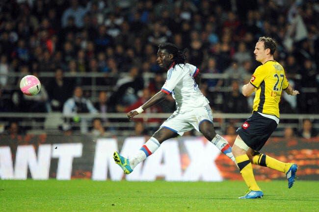 Même épuisé, Bafé Gomis marque toujours avec l'OL