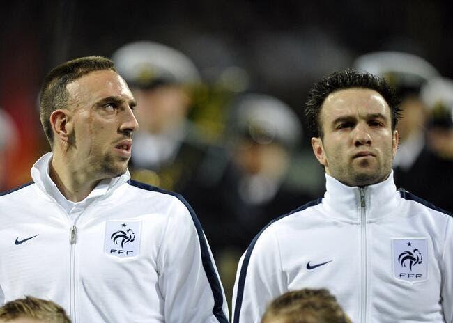 Ribéry énervé par la France du football