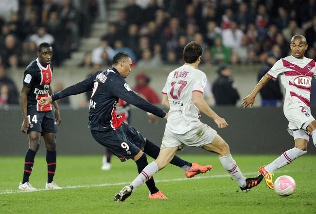 Ancelotti avoue être bluffé par Hoarau au PSG