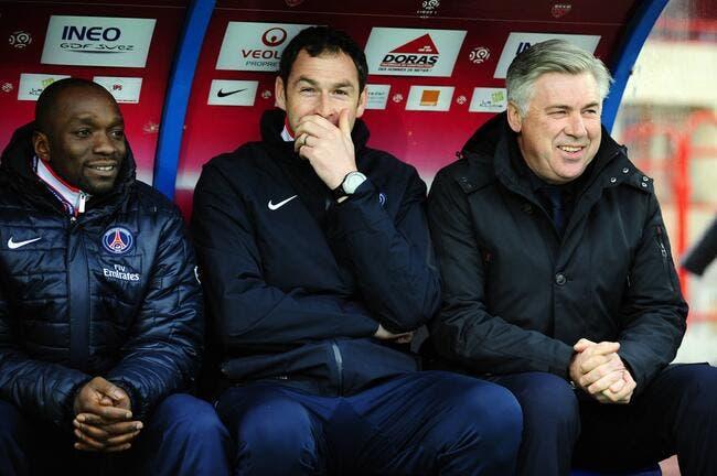 Ancelotti veut mettre fin à 18 années de disette au PSG