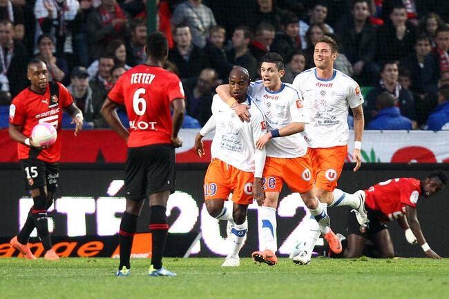 Montpellier n'a pas craqué à Rennes !