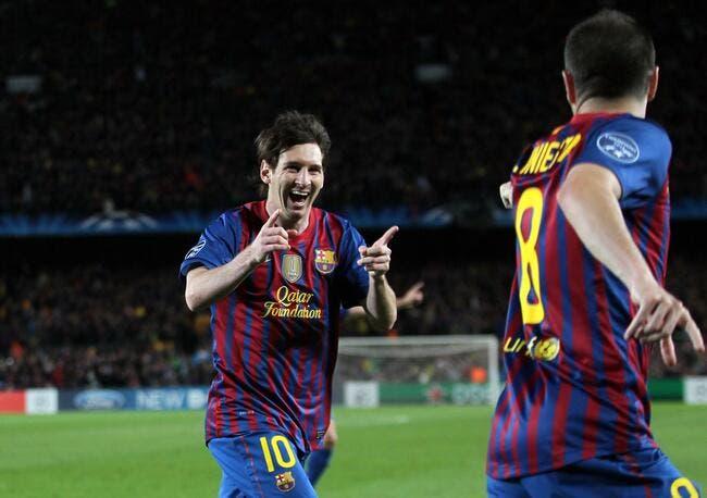 Messi soutenu par le Barça après les accusations de Drenthe