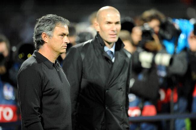 """Mourinho et la """"promotion"""" de Zidane au Real Madrid"""