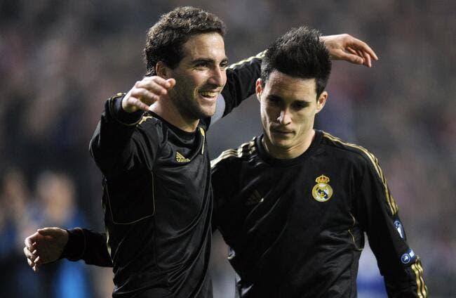Higuain fait ses adieux au Real Madrid