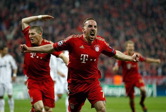 Pour Ribéry, la finale à Munich c'est plus fort que le Mondial et l'Euro