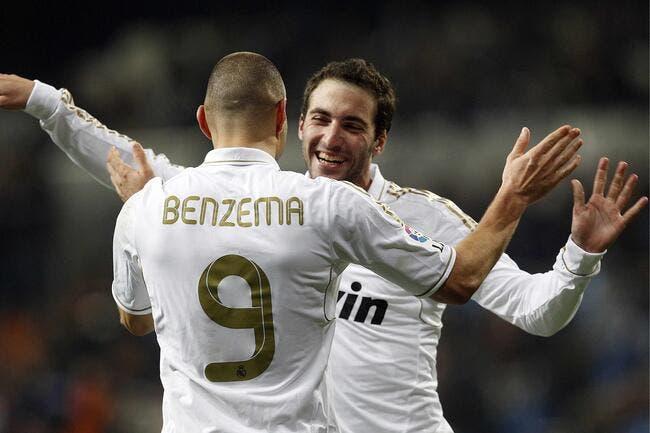 Benzema ne veut pas de Higuain au PSG