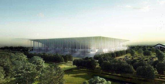 Photo : Le nouveau stade de Bordeaux dans les starting-blocks