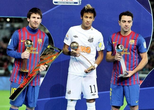 Entre Cristiano Ronaldo et Messi, Neymar a choisi le Ballon d'Or