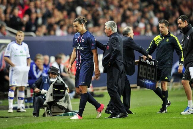Associer Ibrahimovic et Cristiano Ronaldo au PSG, Ancelotti peut le faire