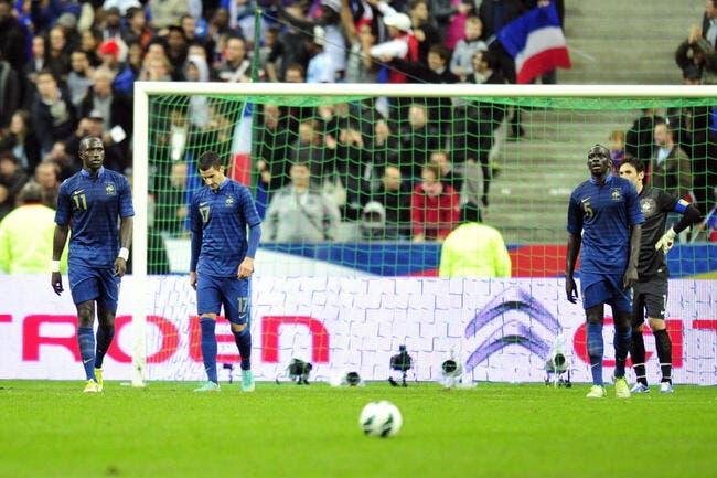 La France dégringole au classement FIFA