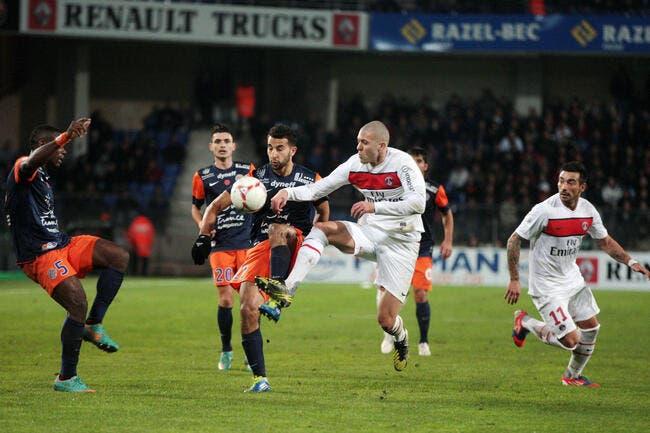 Football Ligue 1 - Le PSG ne senvole pas �� Montpellier - Paris.