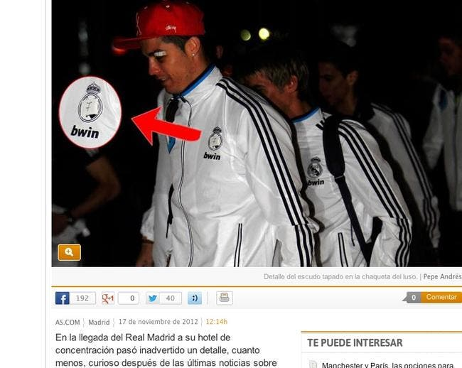 Cristiano Ronaldo, une photo qui fait du foin au Real Madrid