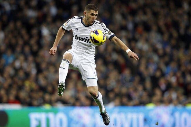 Benzema, c'est le poulain de Vieira