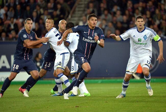 Le PSG n'est pas respecté en Europe pour Thiago Silva