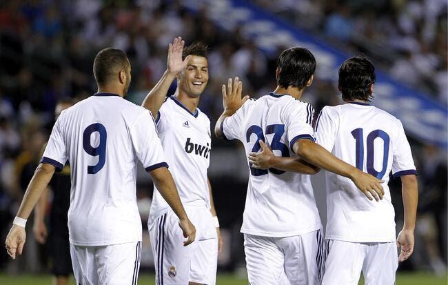 Cristiano Ronaldo voit bien le Real Madrid gagner à Barcelone