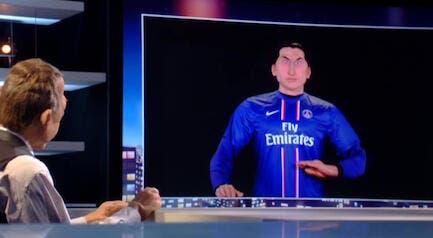 Ibrahimovic, les Guignols heureux d'avoir inventé le verbe « zlataner »