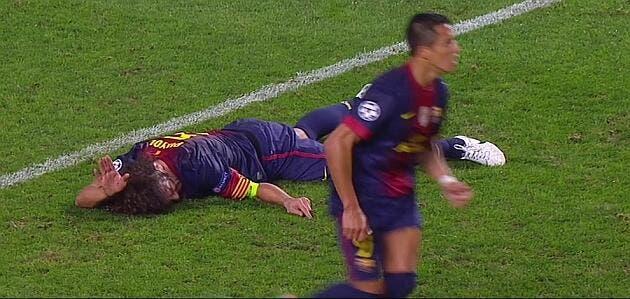 Vidéo : L'effrayante blessure au bras de Puyol