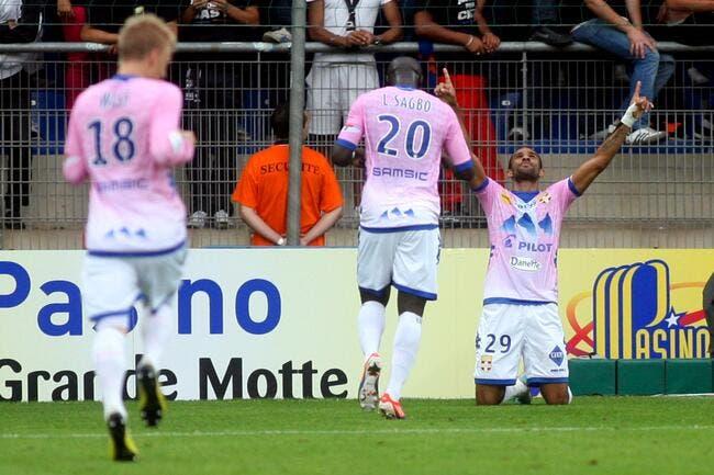 Evian TG a eu de la chance à Montpellier mais n'a rien volé