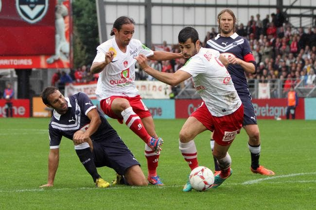Brest prend son point sans rechigner