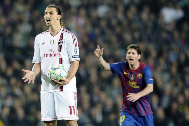 Ibrahimovic, c'est de la trempe de Messi et Ronaldo pour Ginola