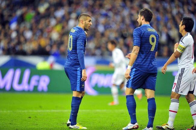 Deschamps reste mystérieux sur l'avenir du duo Benzema-Giroud
