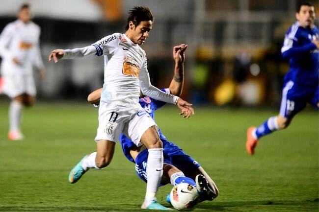 Entre le PSG et Barcelone, Neymar choisit Santos