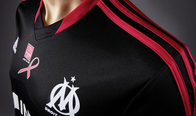 L'OM aura contre l'OL un maillot collector pour la lutte contre le cancer