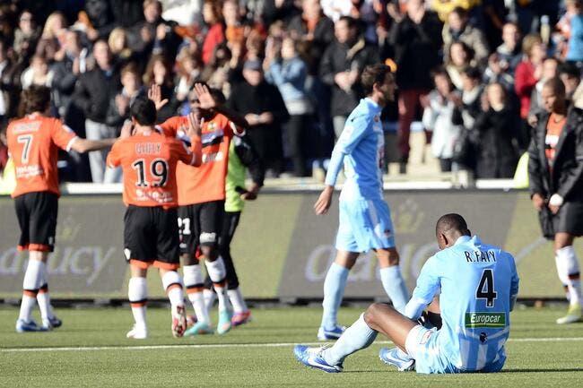 Ajaccio tire son chapeau à Lorient