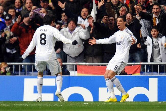 Kaka va au secours de Cristiano Ronaldo