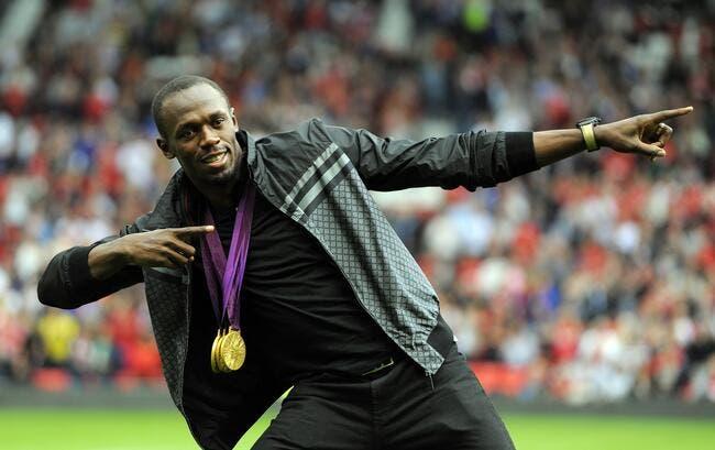 Usain Bolt avec Man Utd contre le Real Madrid, oui c'est possible !