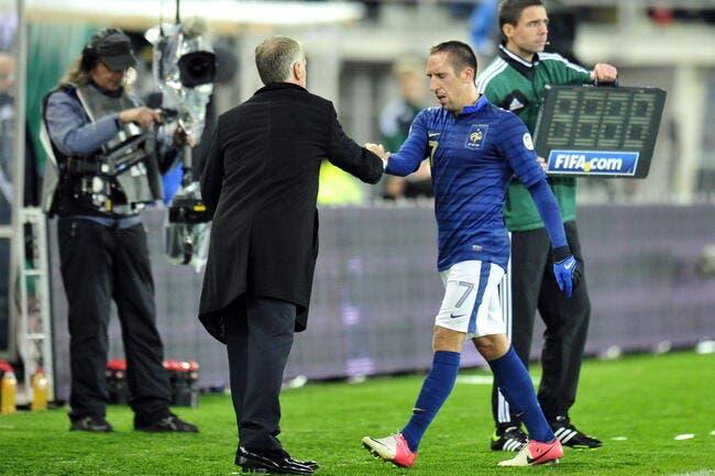 Pour Ménès, Ribéry joue « en sabots » avec les Bleus