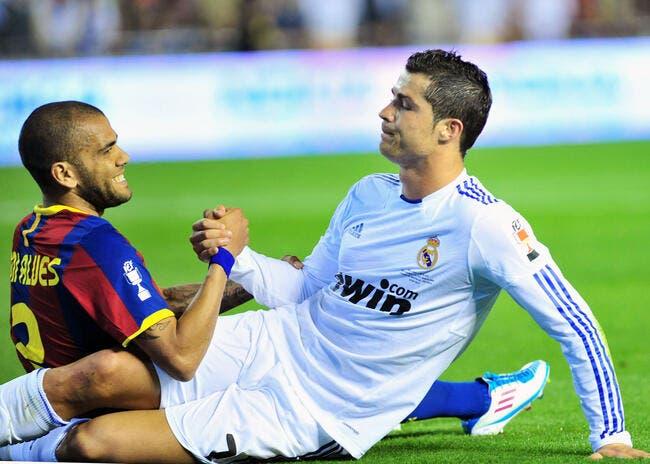 Daniel Alves rêverait de jouer avec Cristiano Ronaldo