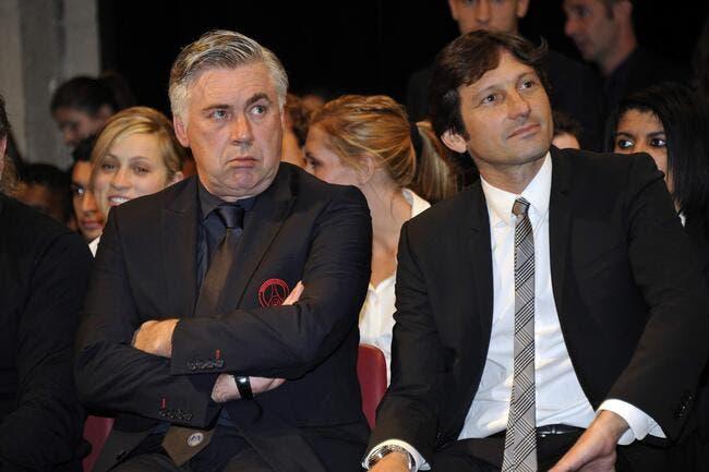 Ancelotti a annoncé qu'il quittait le PSG à Al-Khelaifi et Leonardo