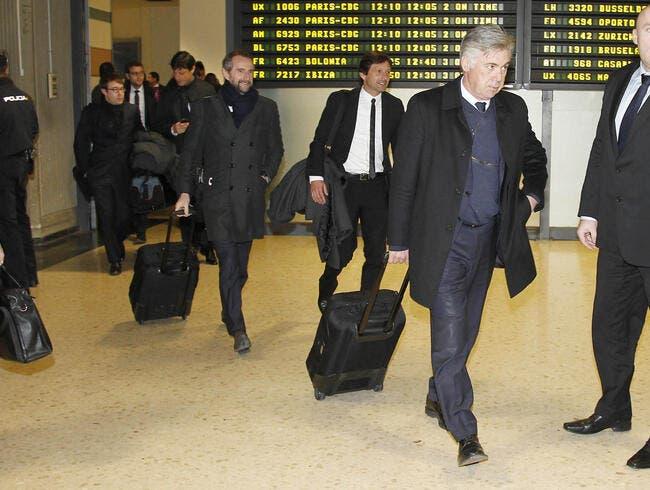 Les quatre clubs qui éloignent Ancelotti du PSG