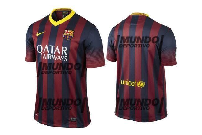 Photo : Le prochain maillot du Barça dévoilé
