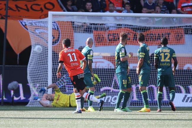 Lorient a toujours son porte-bonheur face à Nantes