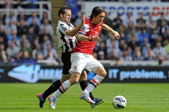 Newcastle dit non à Arsenal pour Cabaye