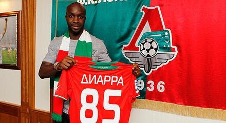 Lassana Diarra embarque à bord du Lokomotiv Moscou