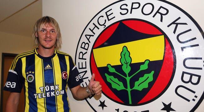 L'OL aurait obtenu le prêt de Krasic par Fenerbahçe