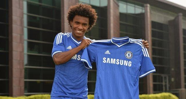 Chelsea officialise la signature de Willian