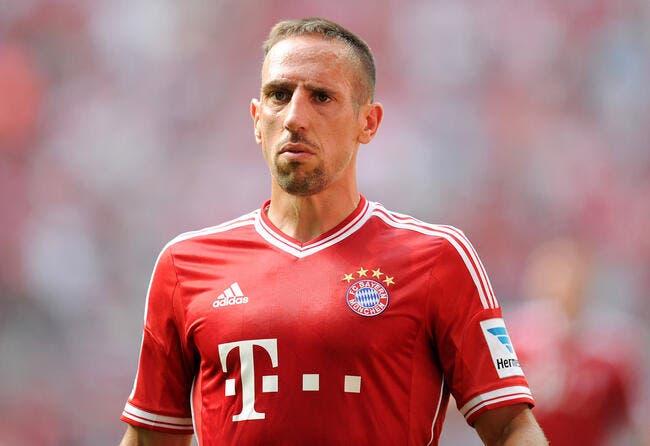 Ribéry meilleur joueur UEFA devant Messi et Cristiano Ronaldo
