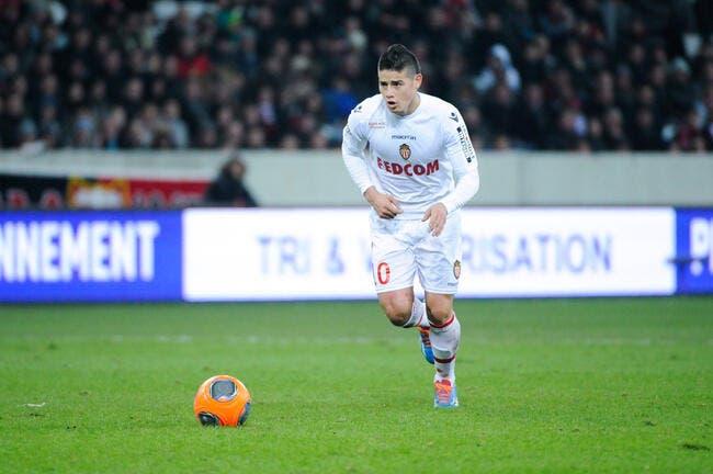 A Monaco, James Rodriguez n'avait rien compris à la L1