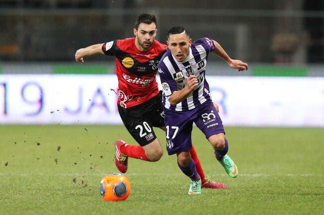 Un 0-0 à Toulouse et Guingamp est aux anges