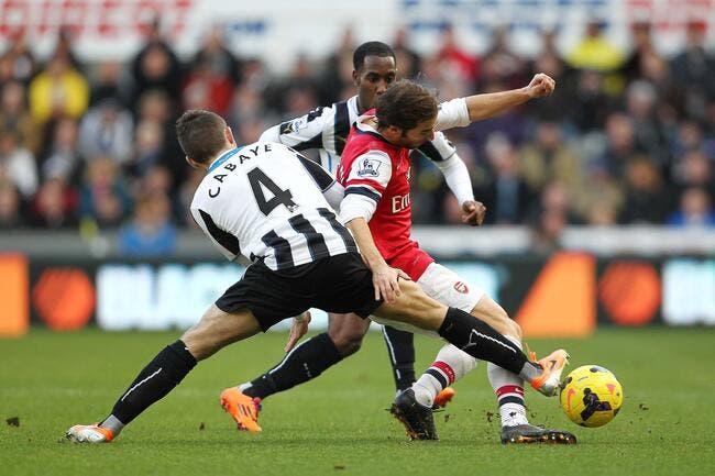 Giroud et Arsenal se relancent à Newcastle