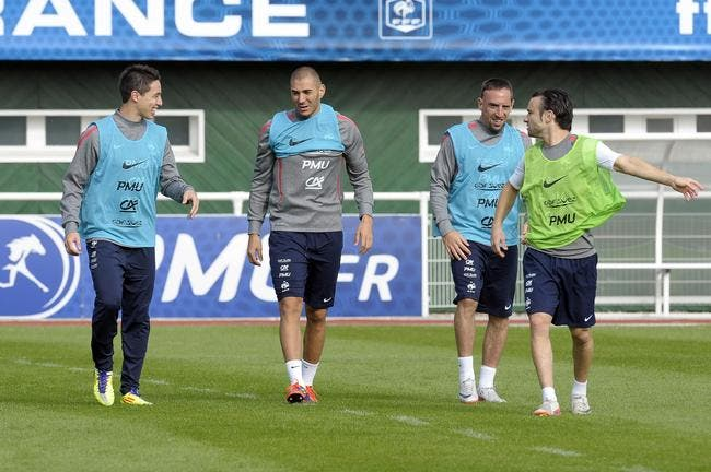 Maybe Deschamps was right to cut Man City man:  Nasri & Ribery used to bully Valbuena over shortness [Quotes]